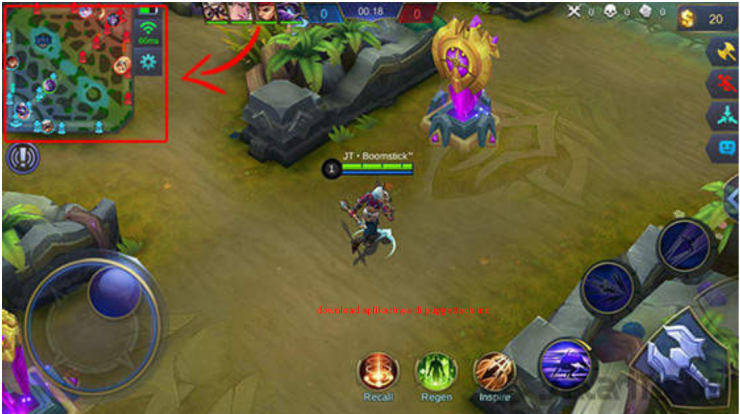 Map Transparan Mobile Legend